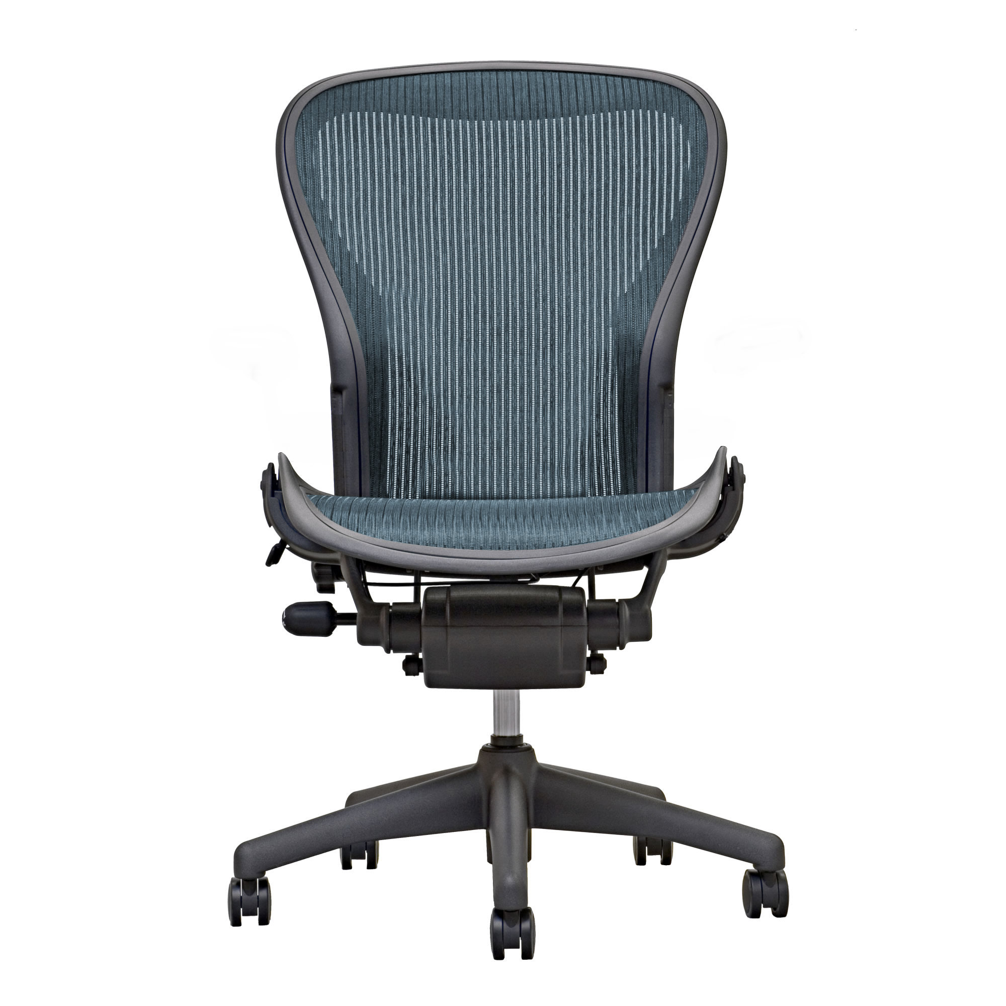 Aeron Chair By Herman Miller Armless Preowned Emerald