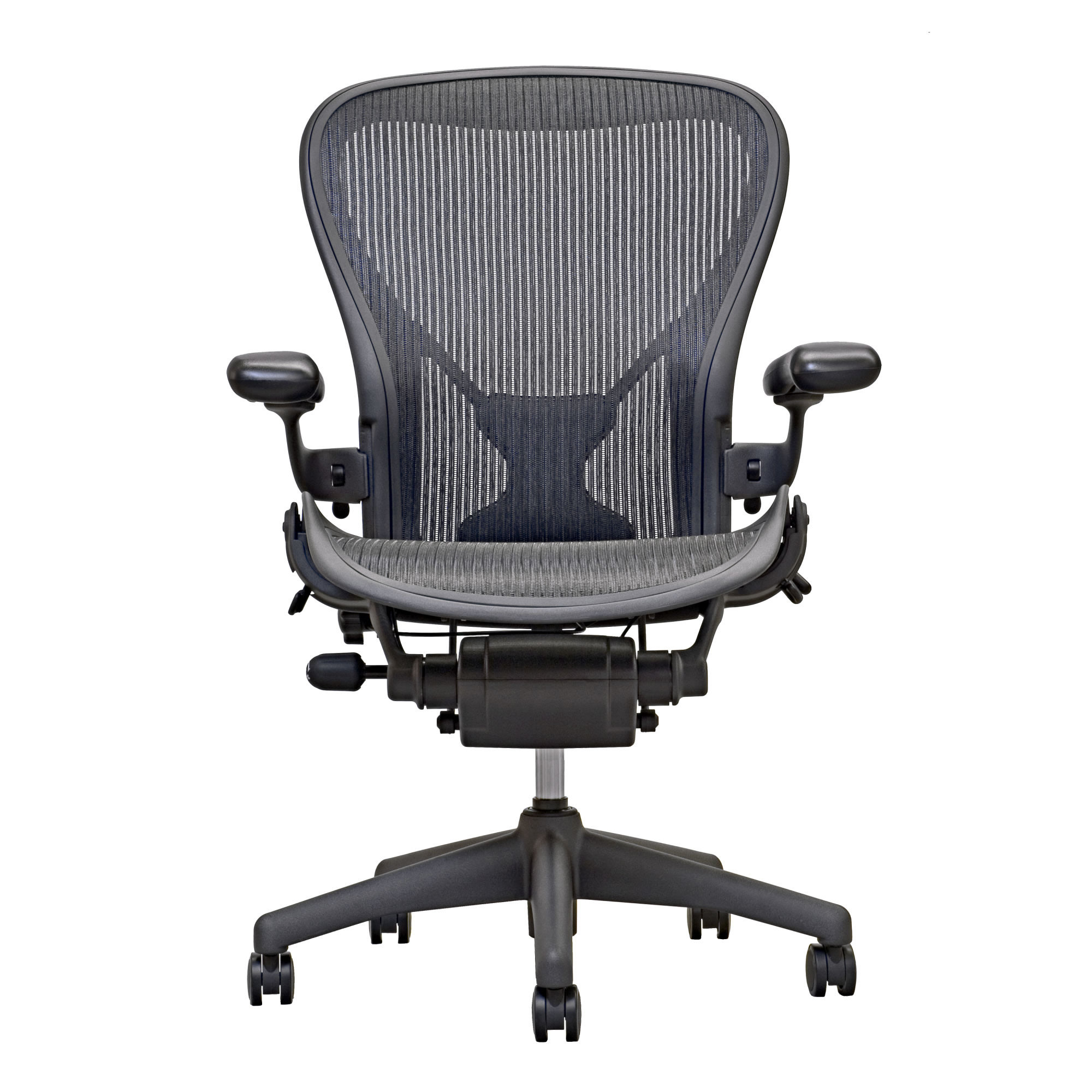 Aeron Chair by Herman Miller - Posture Fit - Carbon  sc 1 st  Madison Seating : fit chair - lorbestier.org