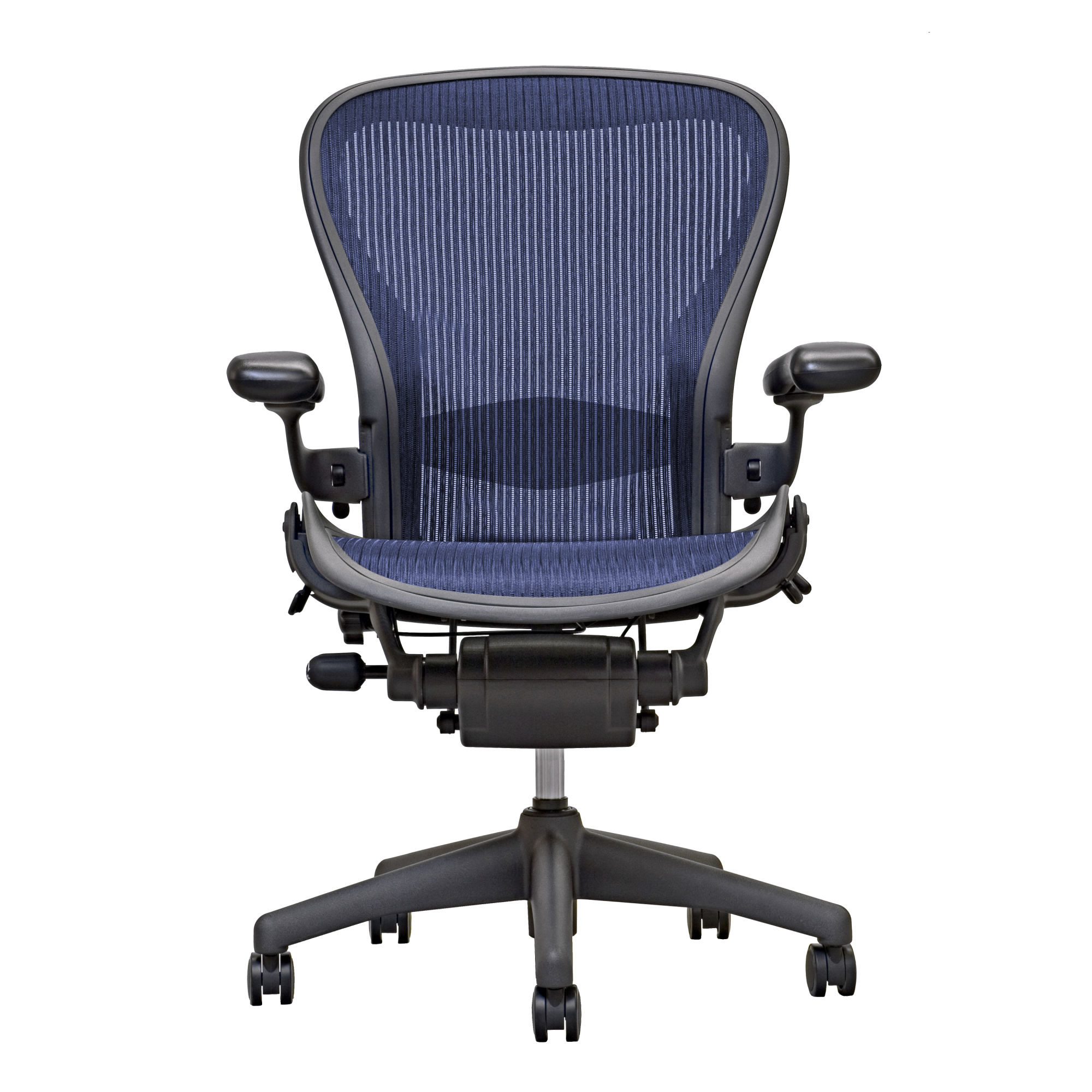 Aeron Chair By Herman Miller Loaded Lumbar Sapphire