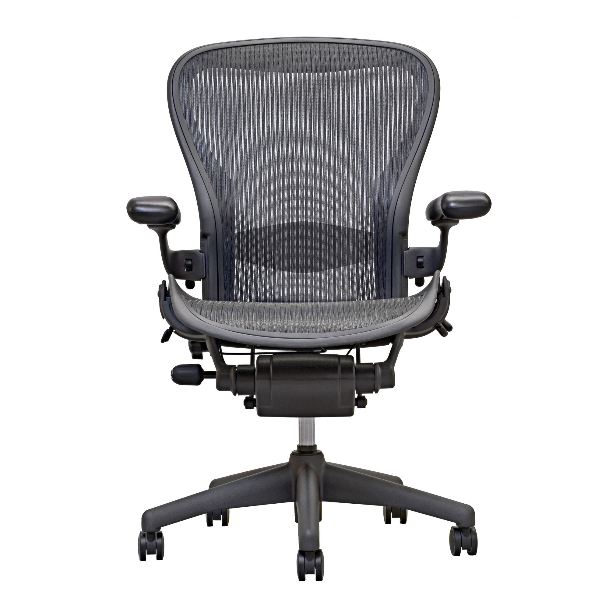 aeron chair by herman miller adjustable lumbar carbon - Herman Miller Aeron Chair
