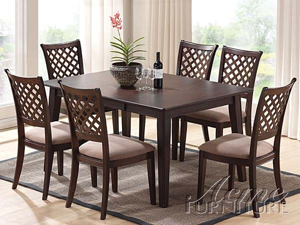 Furniture dining room furniture wood tommy solid wood for Wayfair comedores