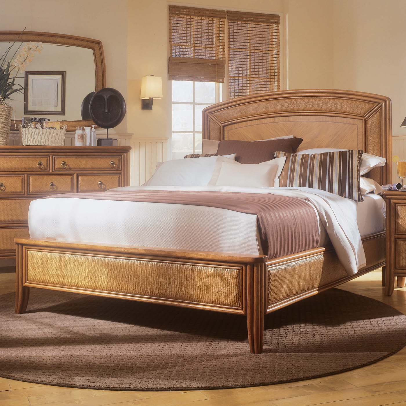 American Drew Antigua Low Profile Bedroom Set