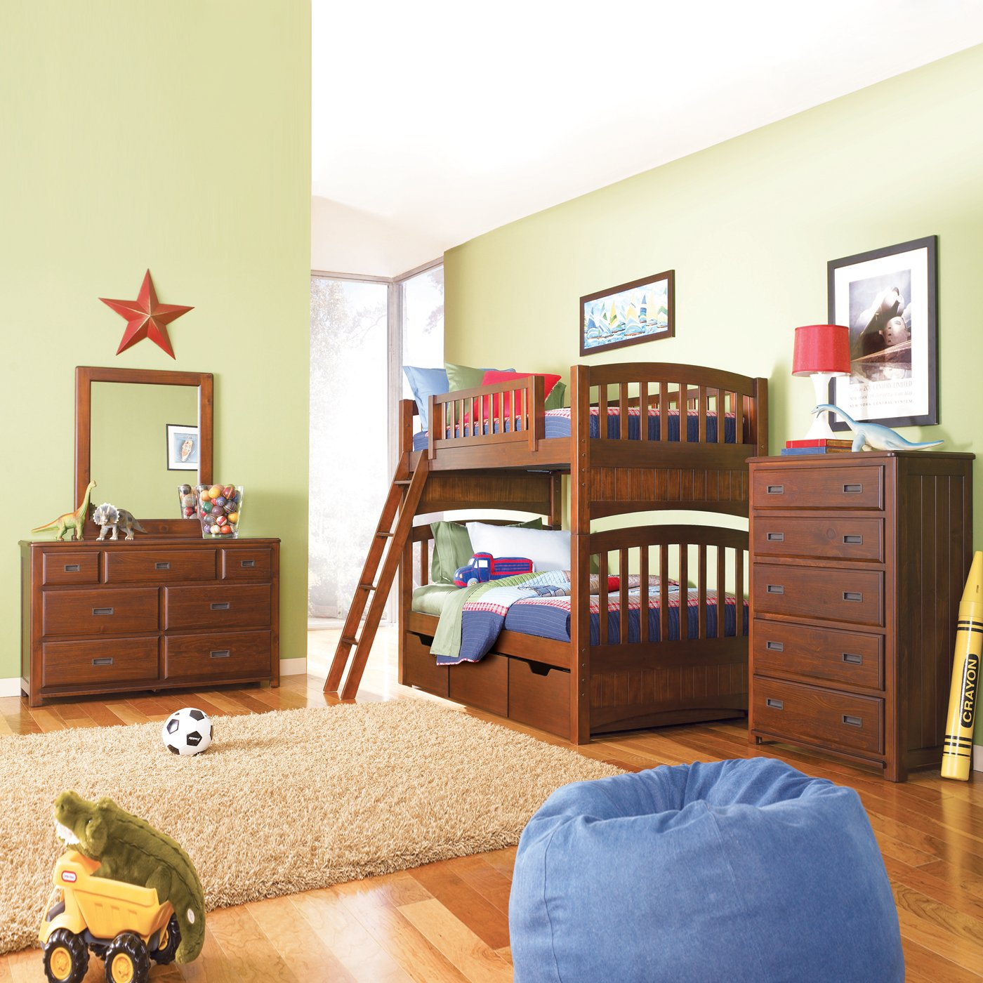 dillon bunk bedroom set by lea industries