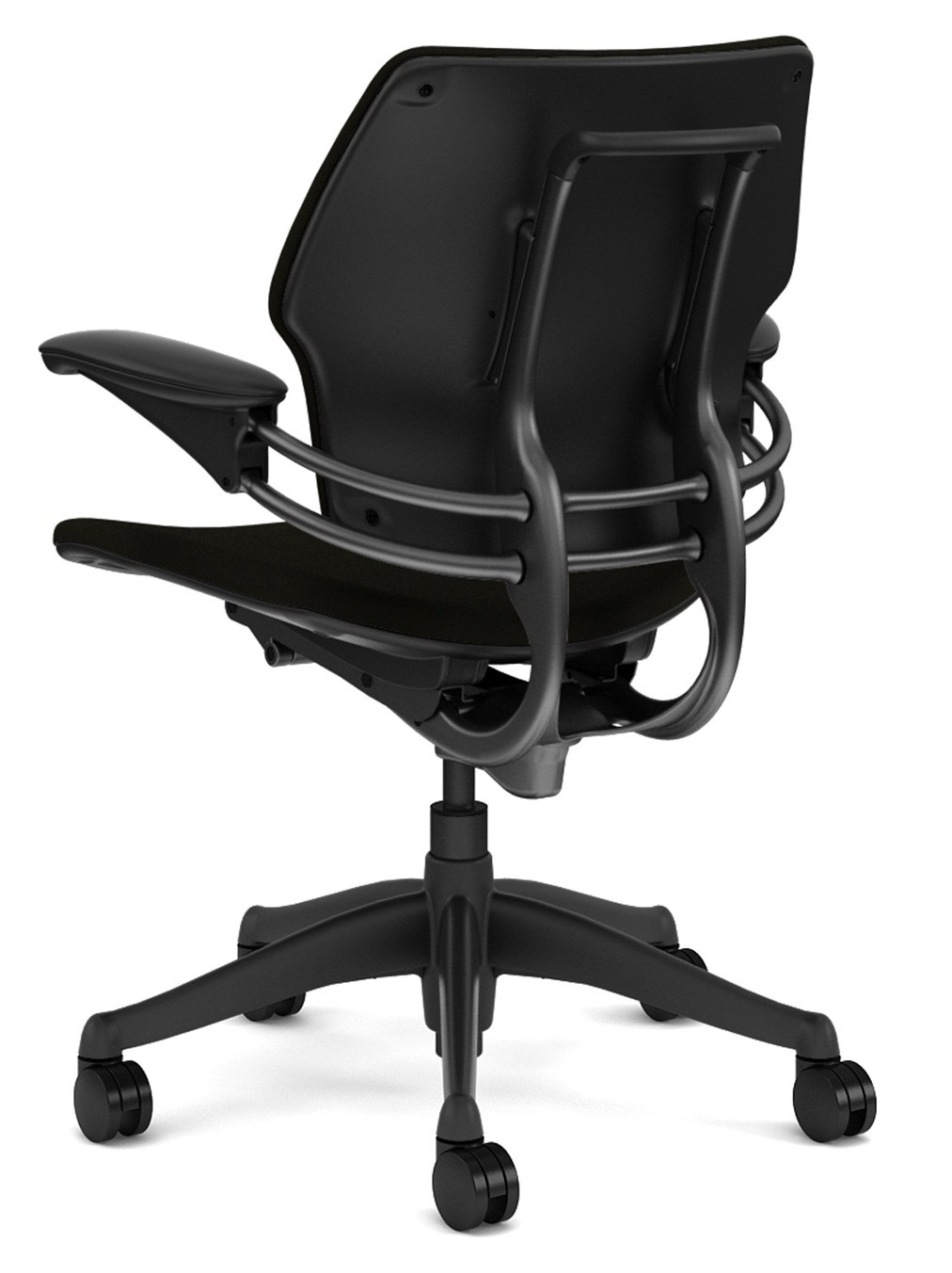 Humanscale freedom chair leather -  Freedom Mid Back Task Chair By Humanscale Back