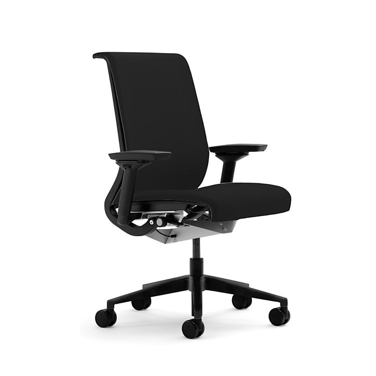 think chair by steelcase - 46535067-asx-licorice-fb