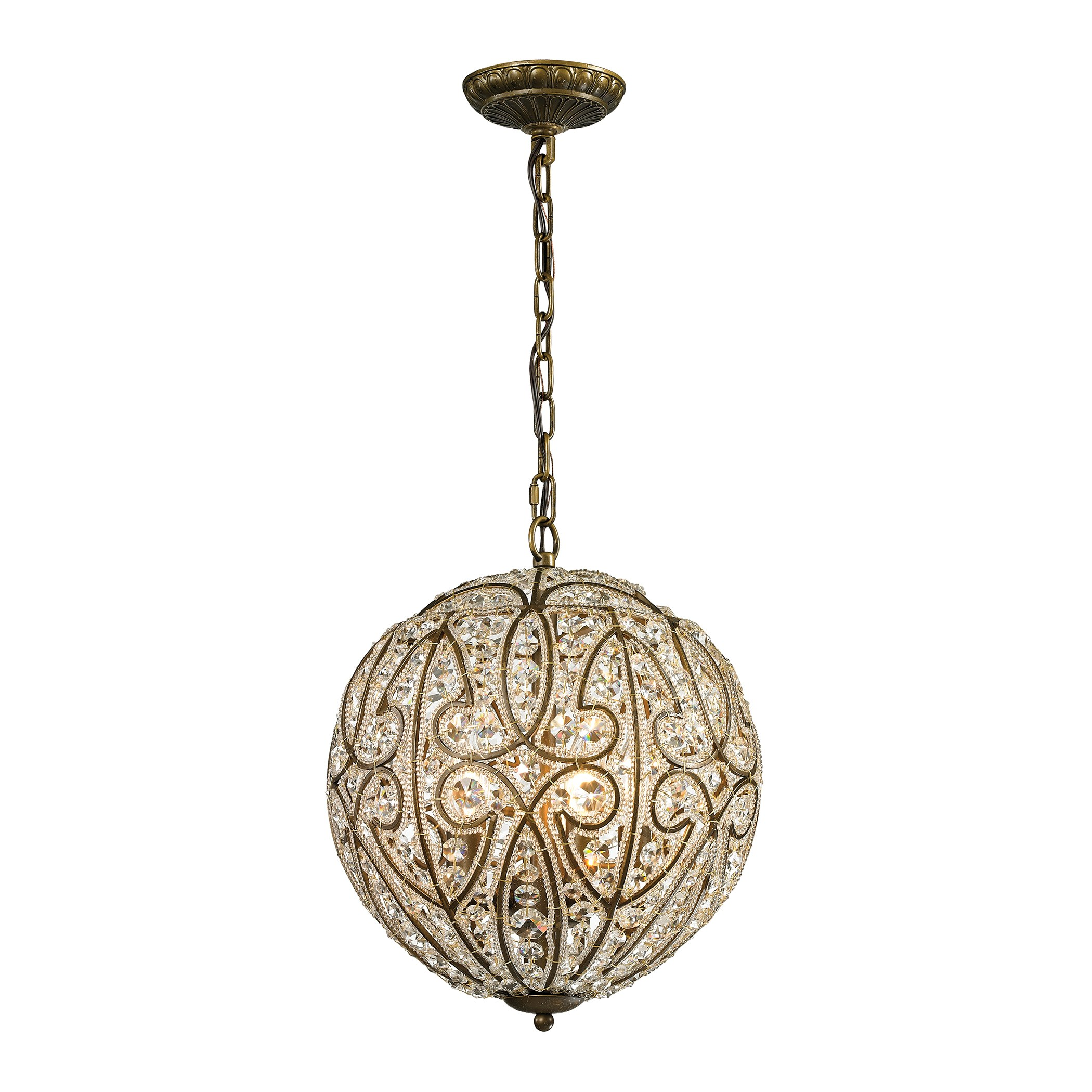 elizabethan existing collection 6 light pendant in