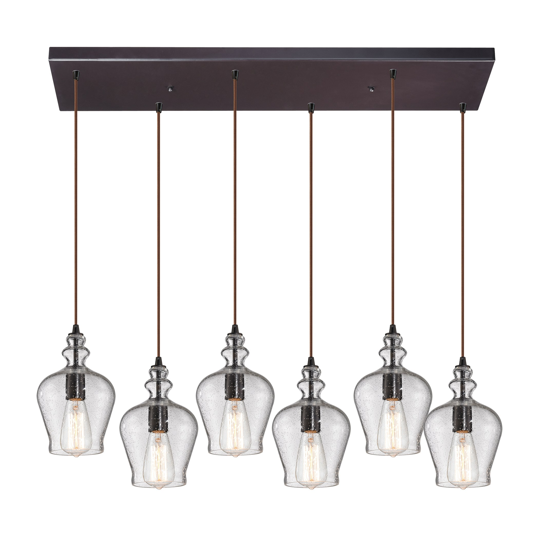 Bronze Lighting Collections : Menlow park existing collection light chandelier in
