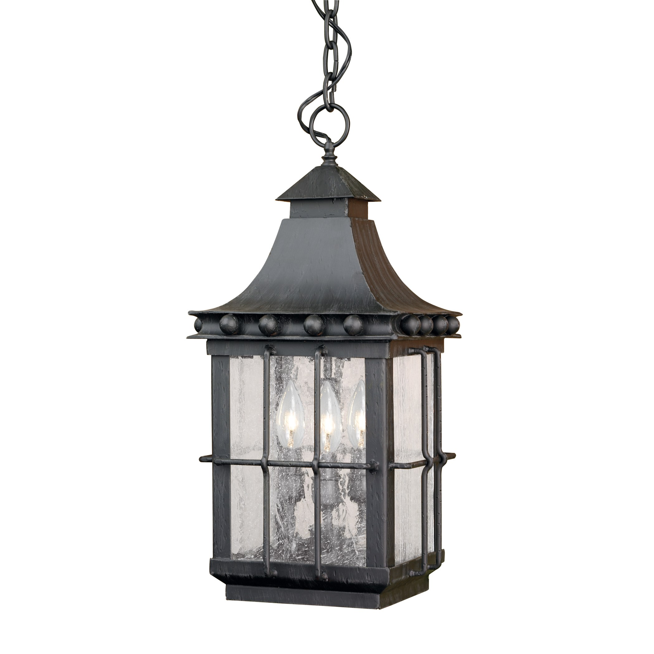 Outdoor Hanging Lantern Taos Collection In A Espresso