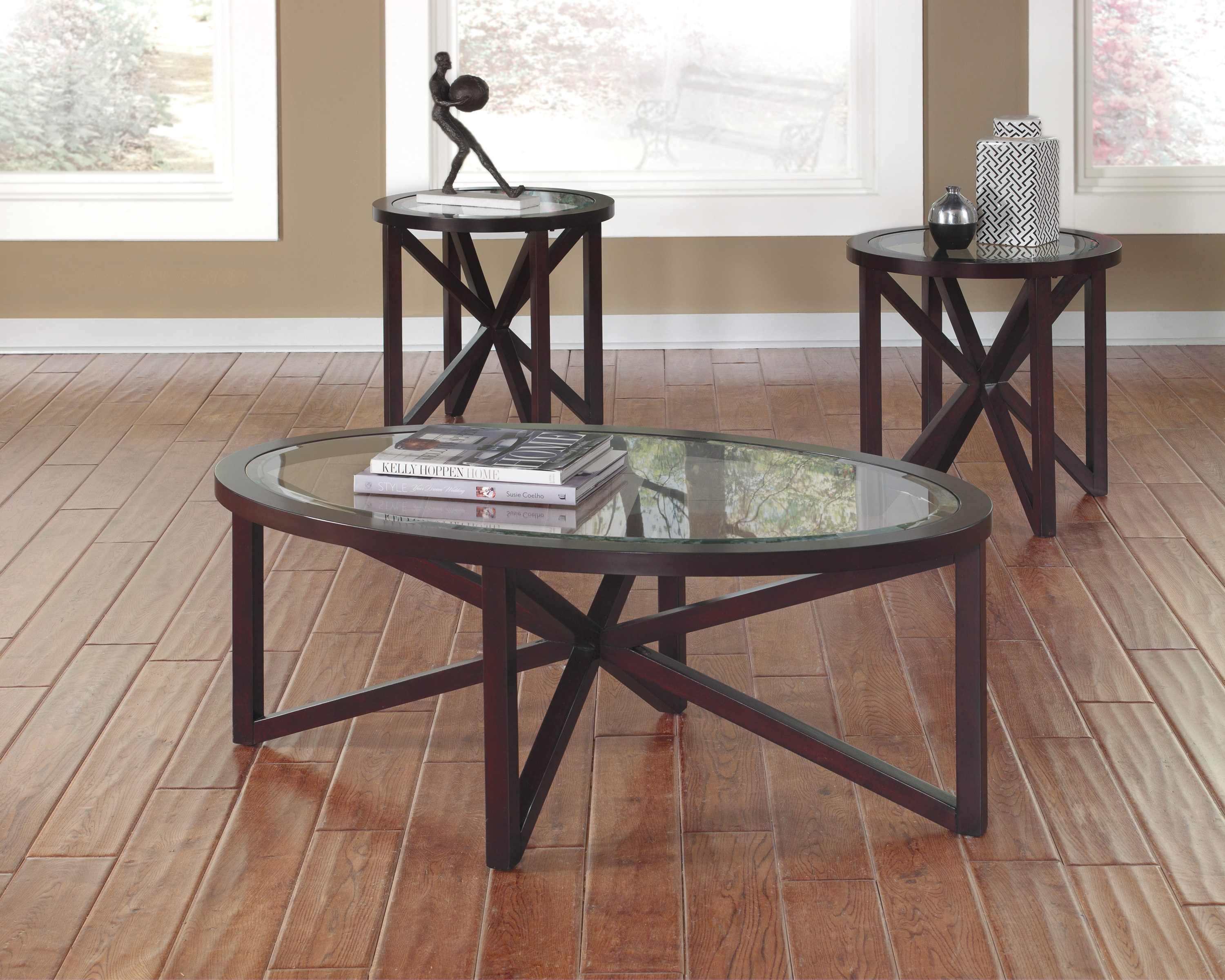 Sleffine Occasional Table Set By Ashley Furniture T291 13