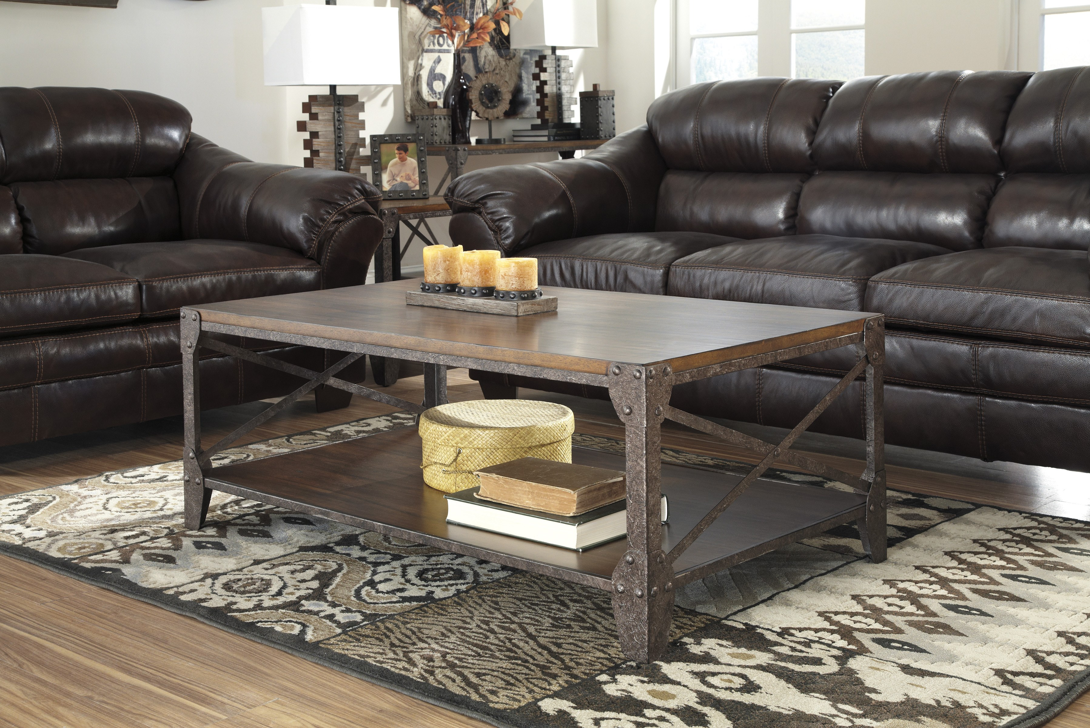 Shairmore Rectangular Cocktail By Ashley Furniture T526 1
