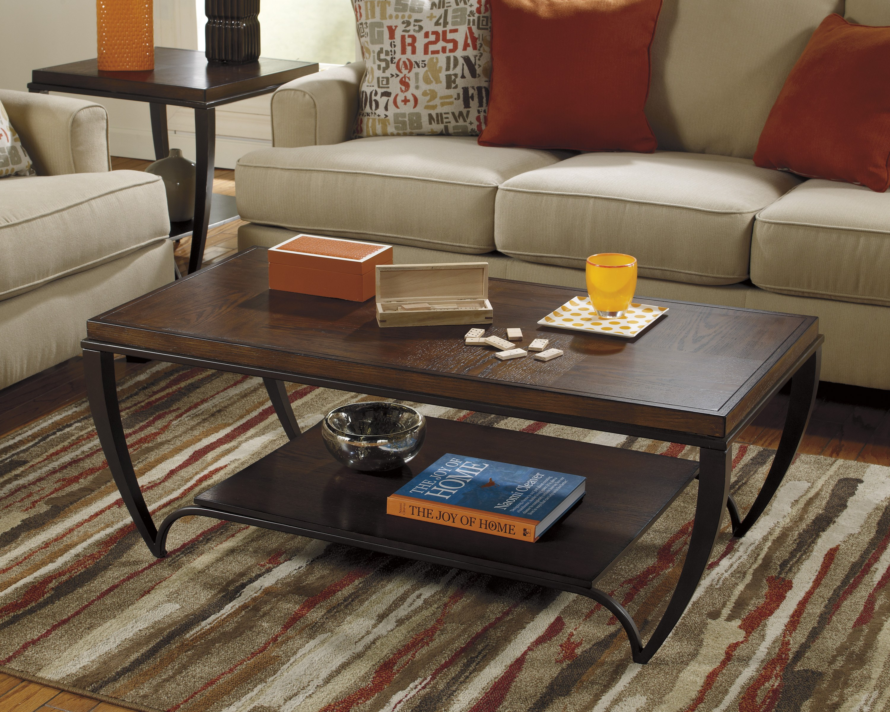 Brashawn Rectangular Cocktail Table By Ashley Furniture T585 1