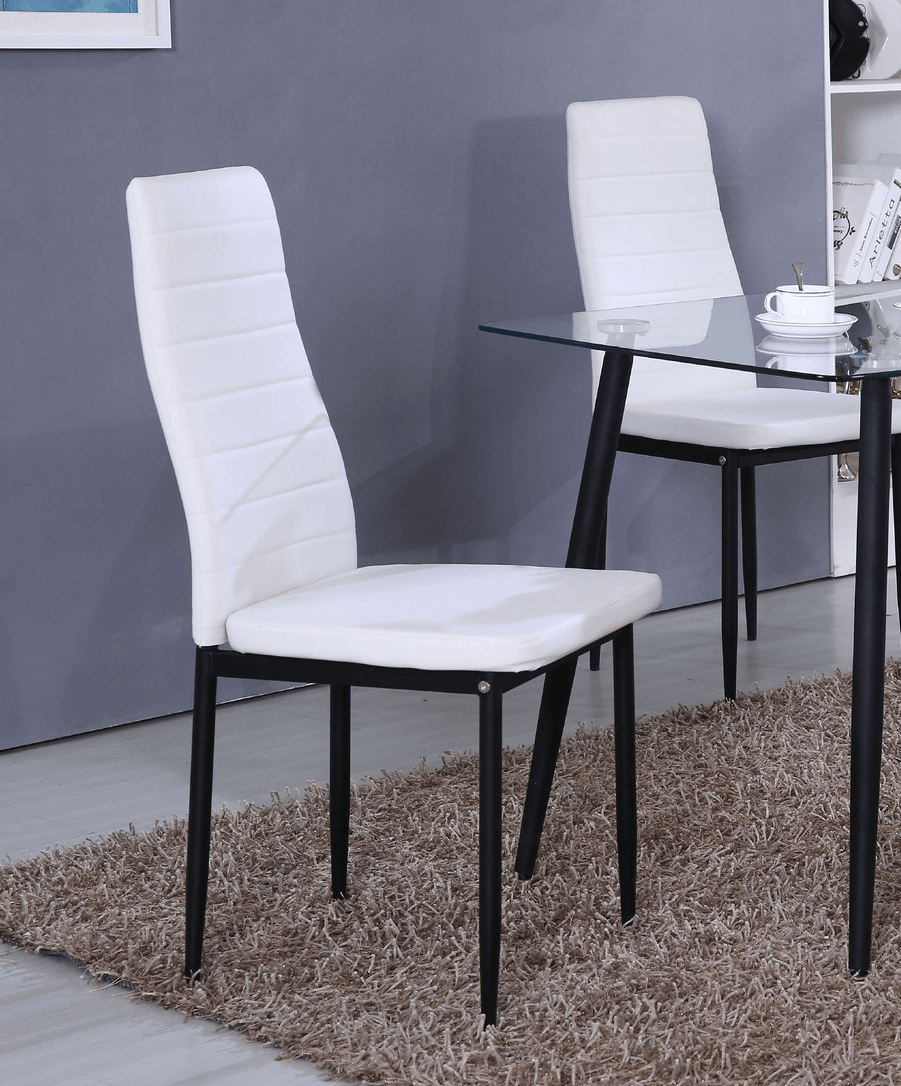 grey dining chairs set of 4 by glory furniture g0179c. Black Bedroom Furniture Sets. Home Design Ideas