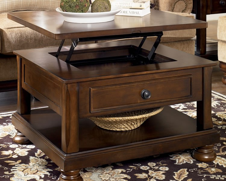 Porter Lift Top Cocktail Table By Ashley Furniture T697 0