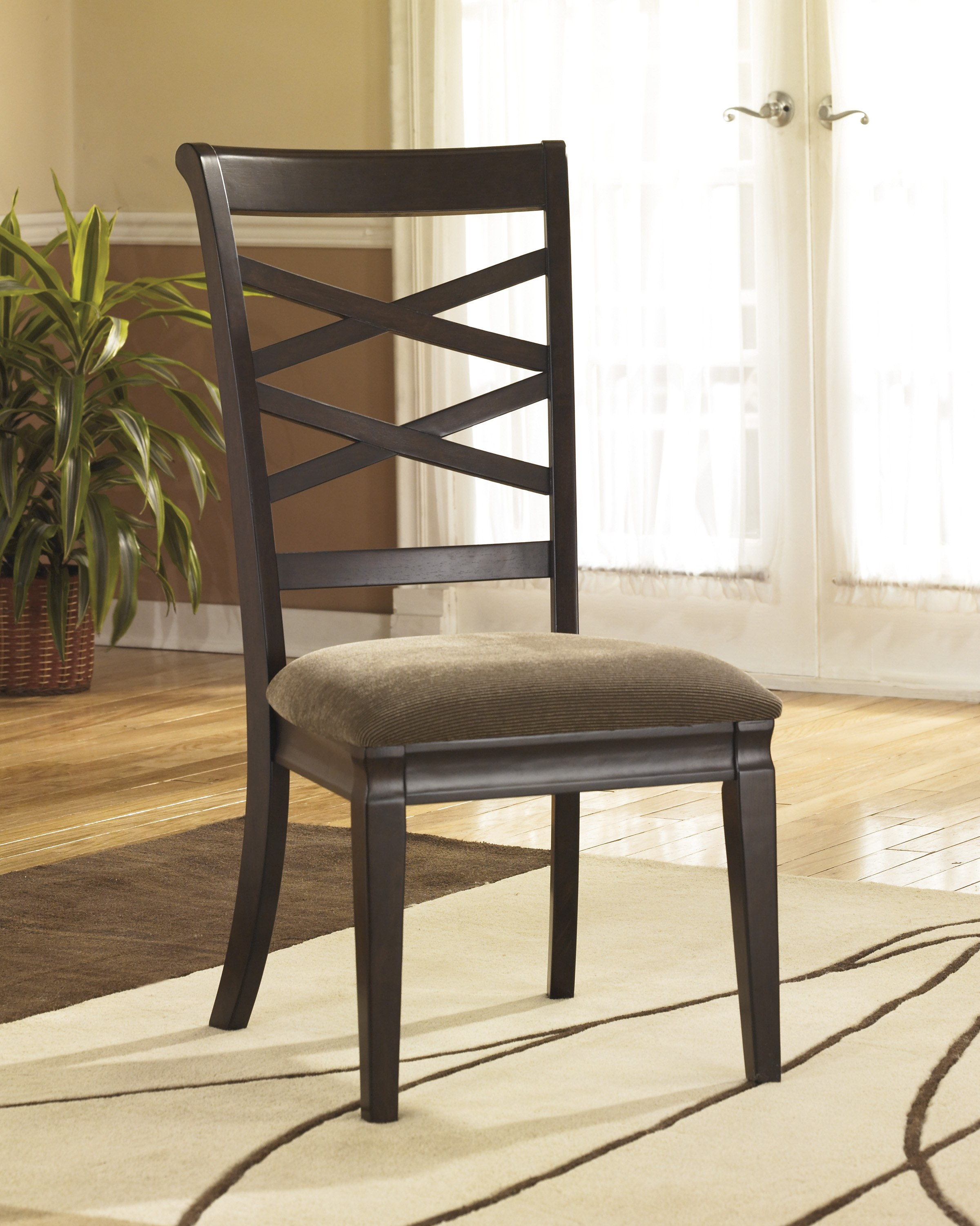 Hayley Dining Upholstered Side Chair (Set of 2) by Ashley ...