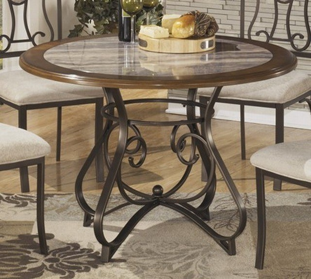 Signature Design by Ashley Hopstand Round Dining Room Table - D314 ...