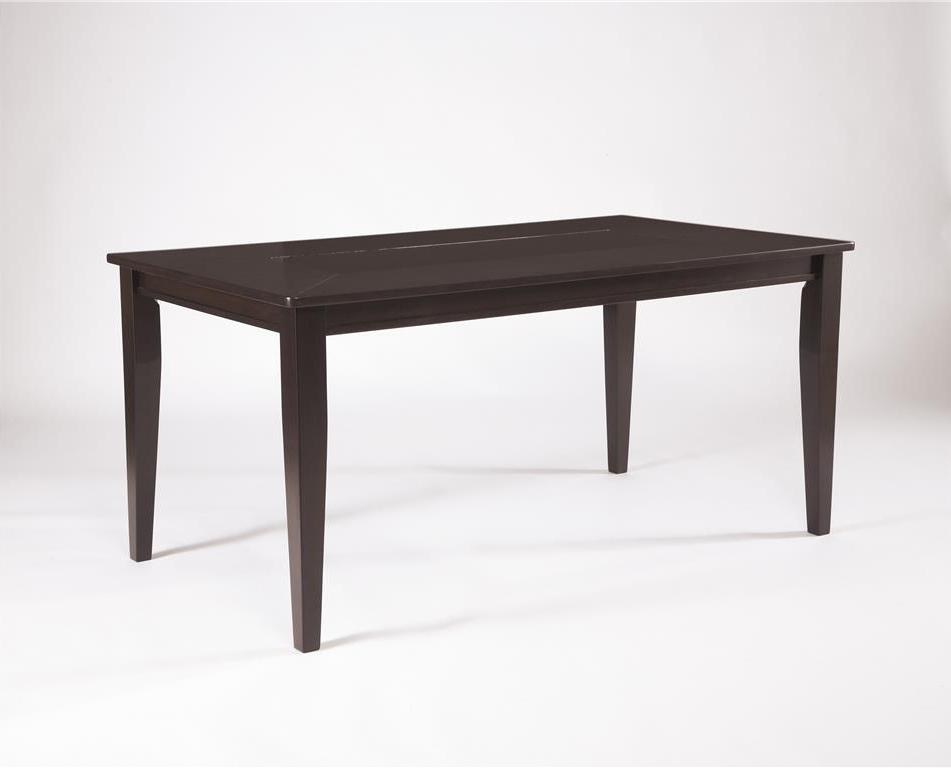 Trishelle rectangular dining room table by ashley for Ashley furniture dining room table