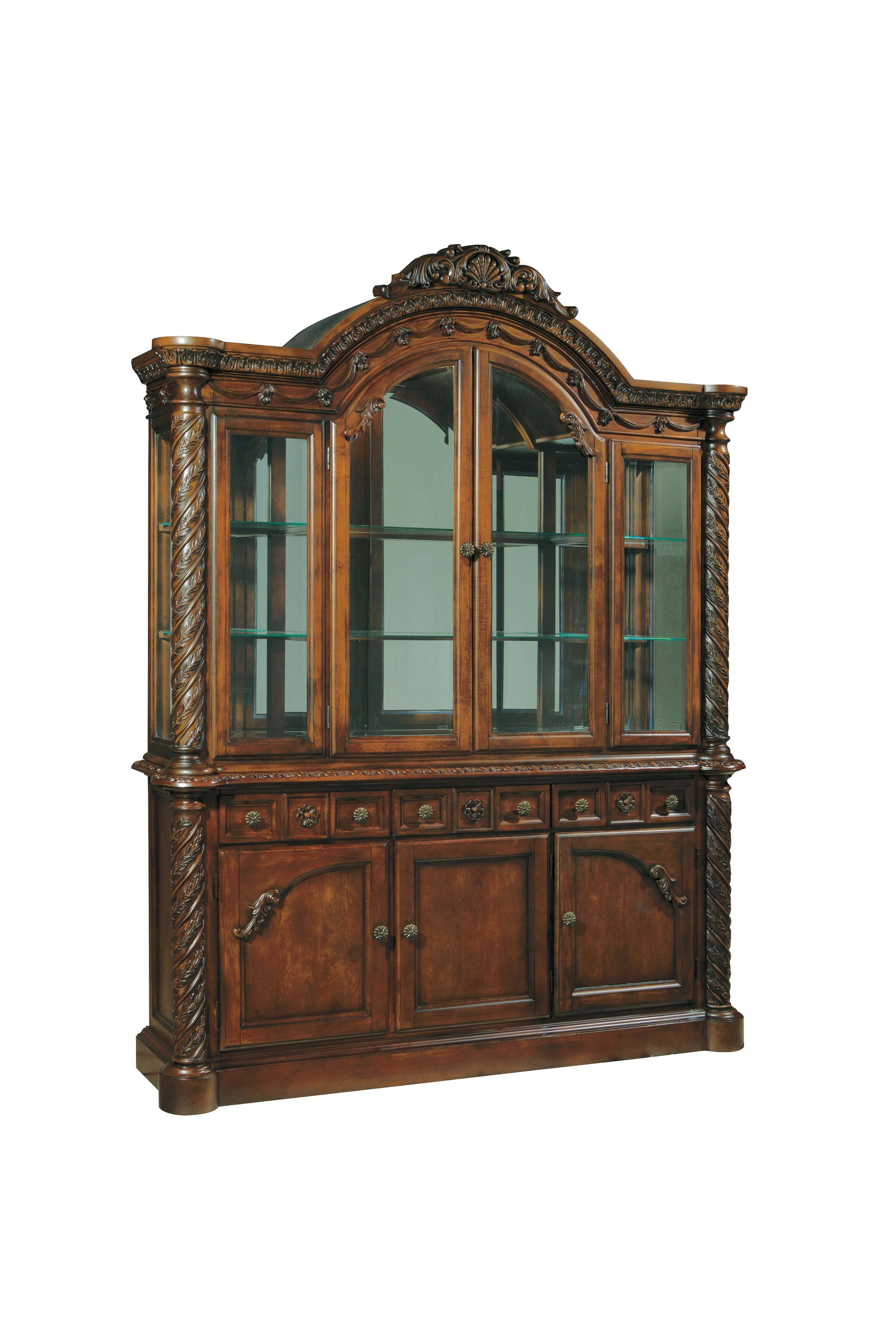 Millennium North Shore Dining Room China Cabinet By Ashley