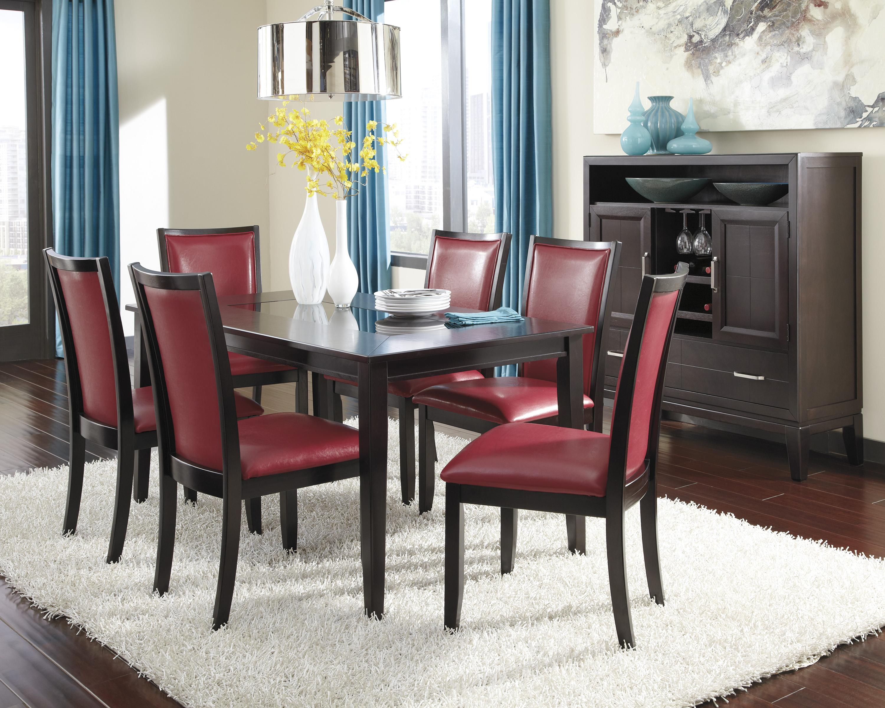 Trishelle Rectangular Dining Room Table By Ashley Furniture D550 25