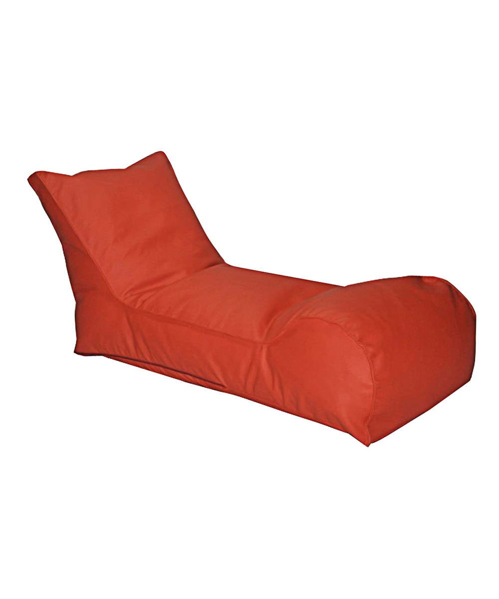 The Chillaxer Bean Bag Chair In Orange By Modern Bean Bag