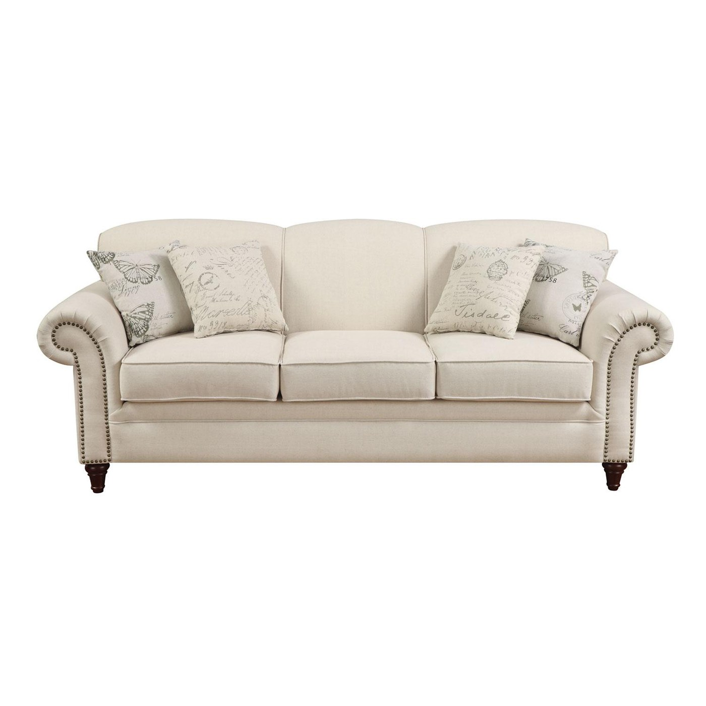 Norah sofa by coaster fine furniture for Fine furniture