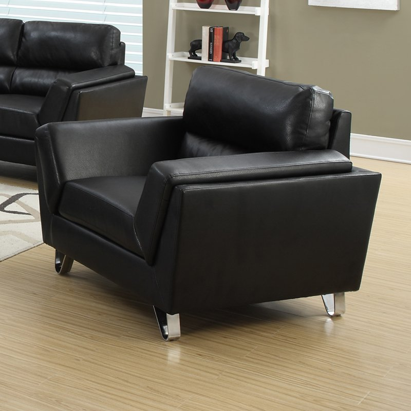 bonded leather match chair with black bonded leather match