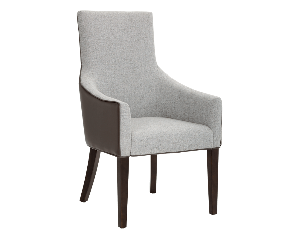 Vincent Armchair In Grey By Sunpan Modern