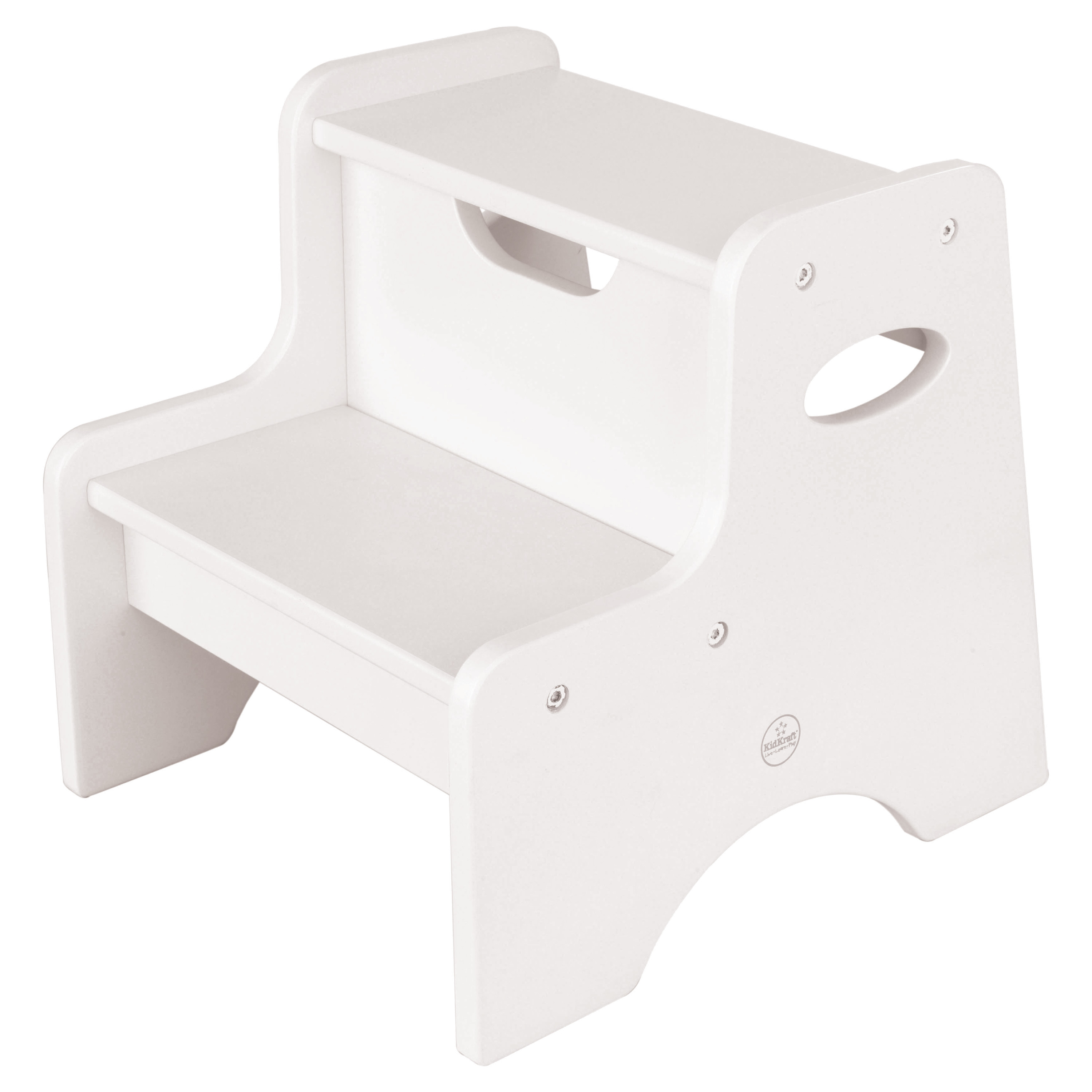 Two Step Stool White By Kidkraft