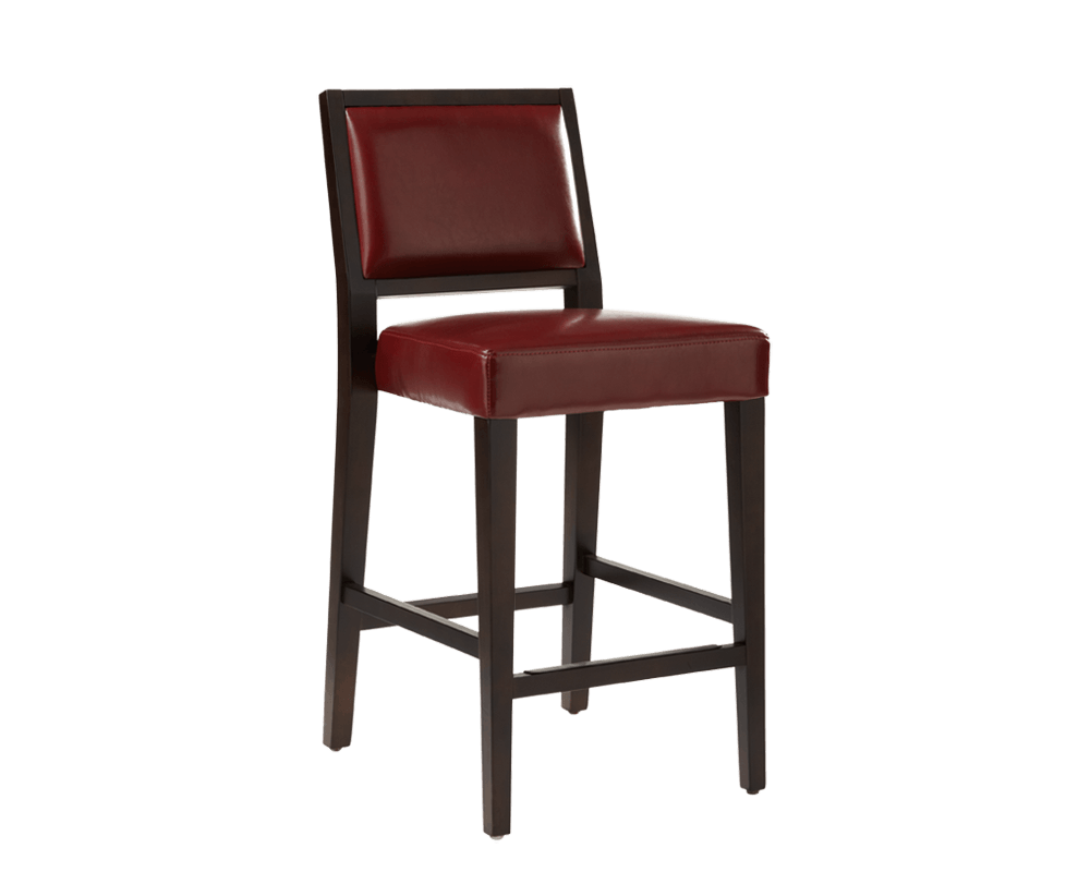 Citizen Counter Stool In Oxblood By Sunpan Modern
