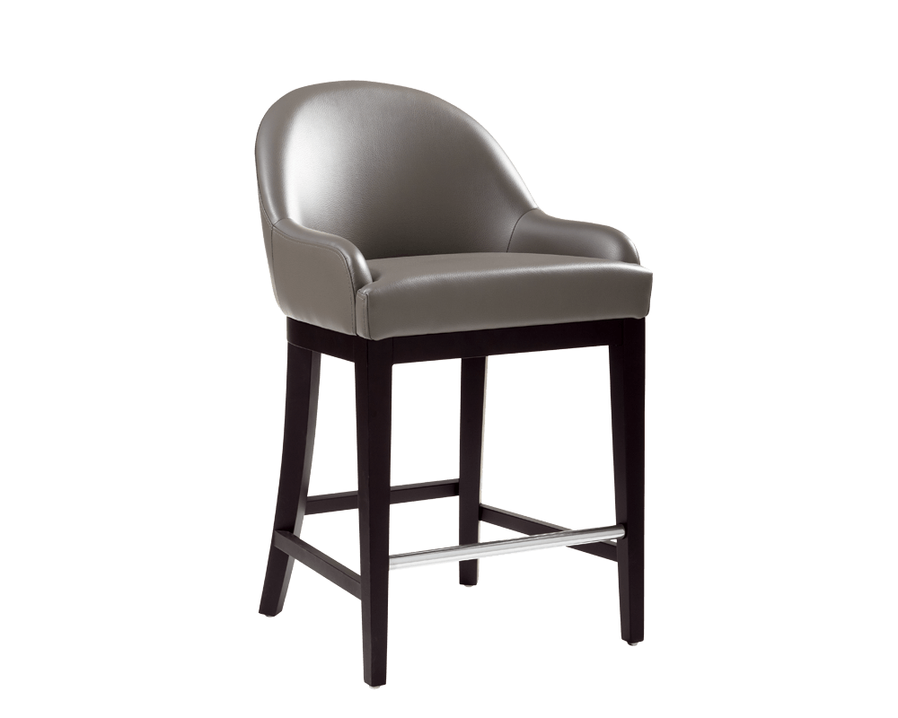 Haven Counter Stool In Grey By Sunpan Modern