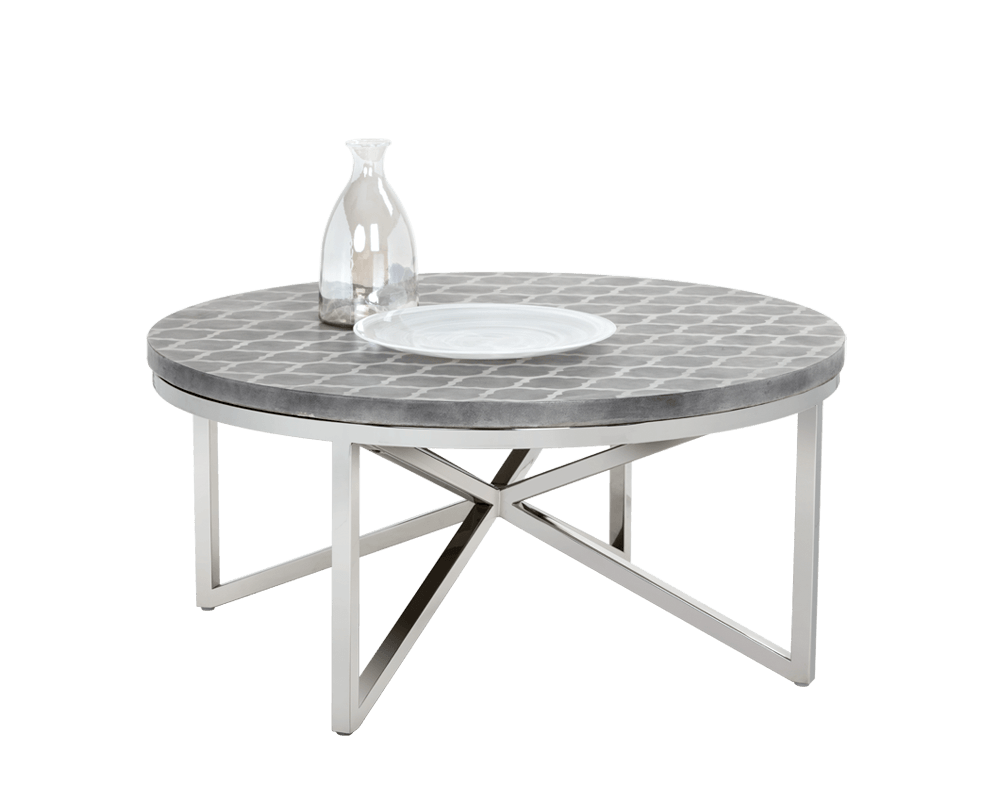 Dion Coffee Table In Grey By Sunpan Modern