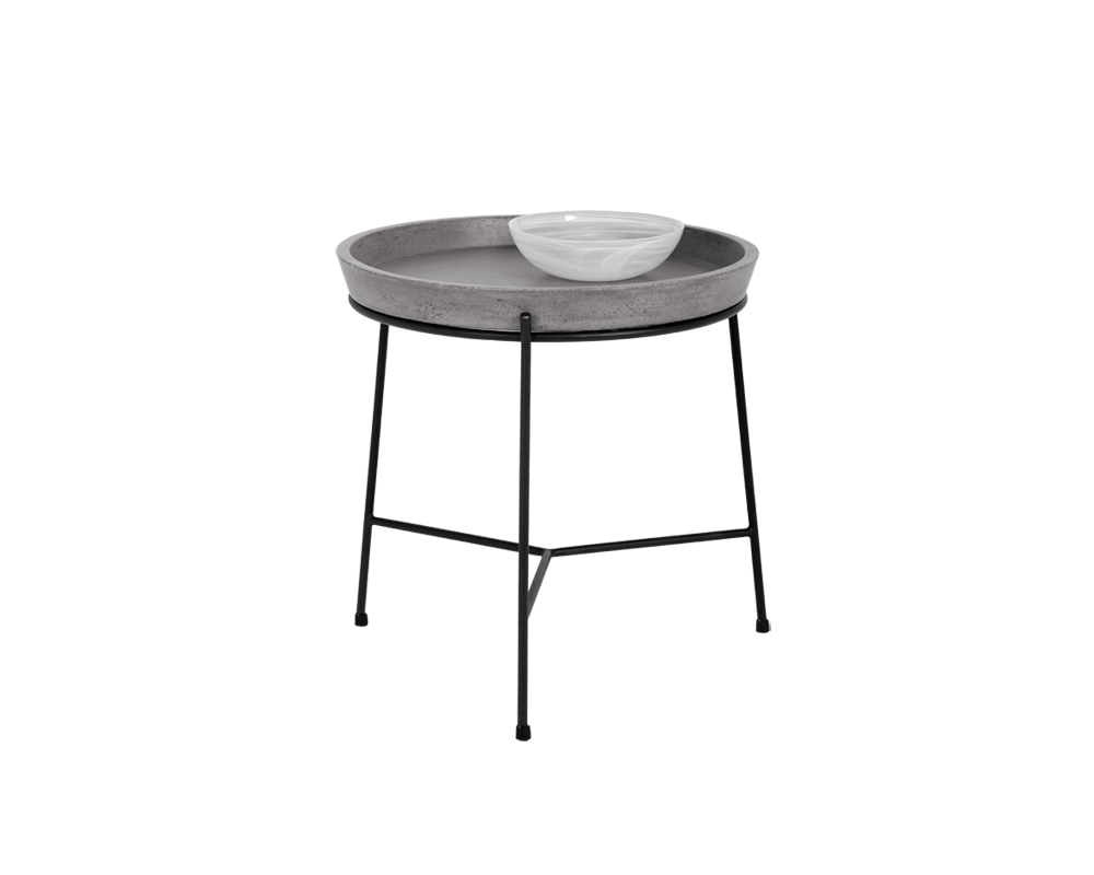 Remy End Table In Grey By Sunpan Modern