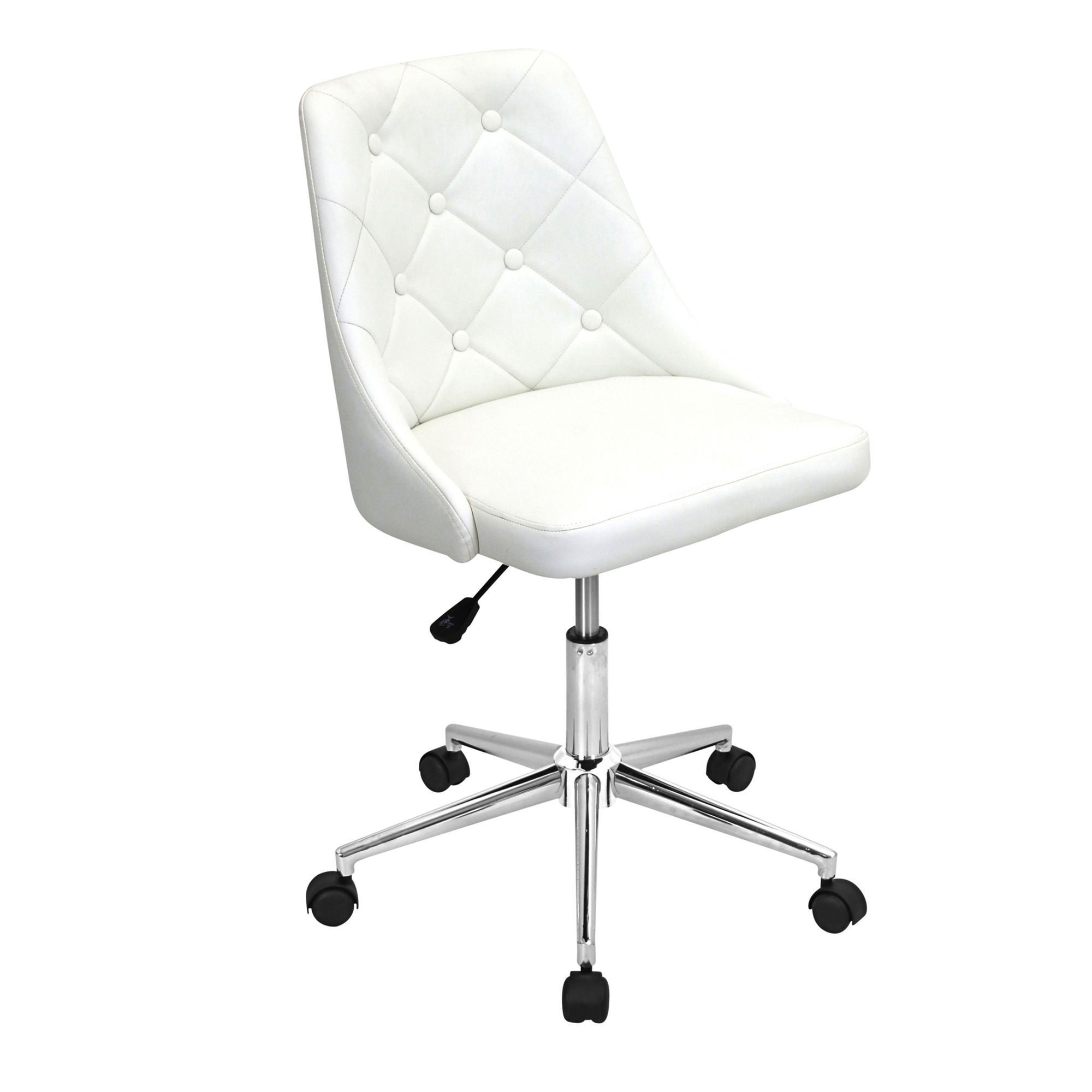 Off white office chair Furniture Save 44 Madison Seating Marche Office Chair In Eggshell Off White By Lumisource