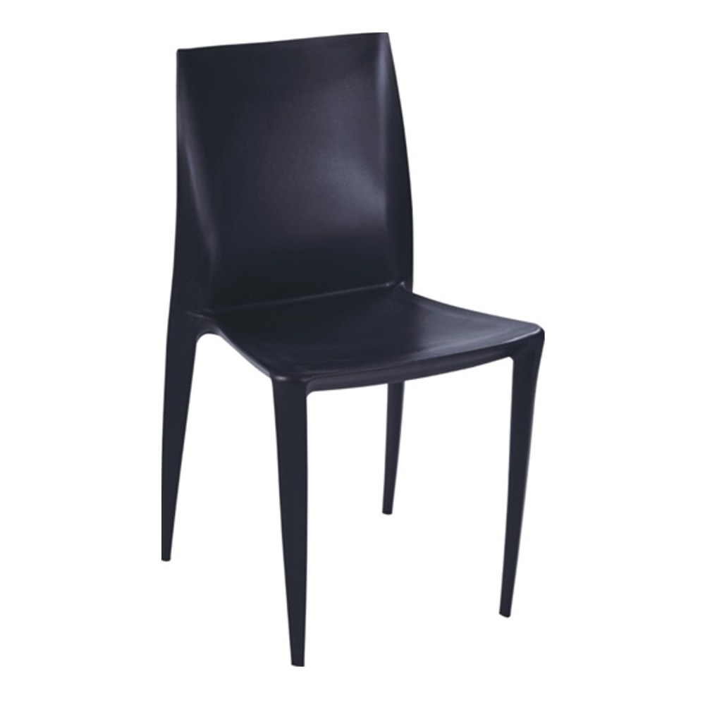 Square Dining Chair In Black By Mod Decor
