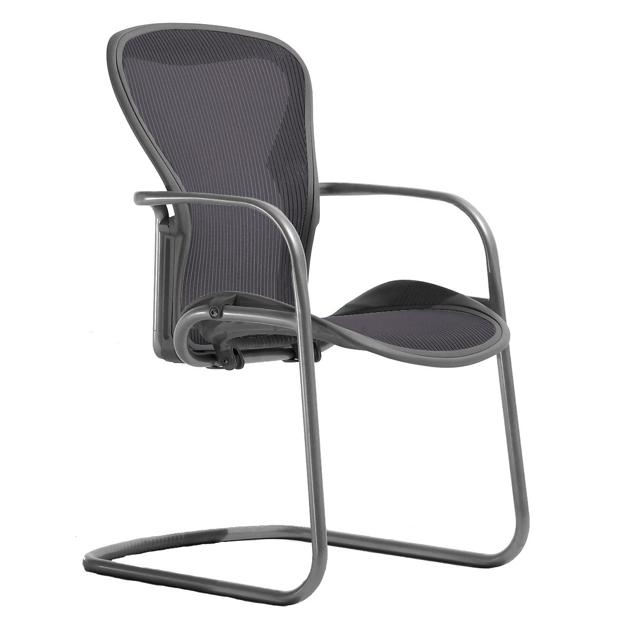 Marvelous Aeron Side Chair By Herman Miller Open Box Ocoug Best Dining Table And Chair Ideas Images Ocougorg