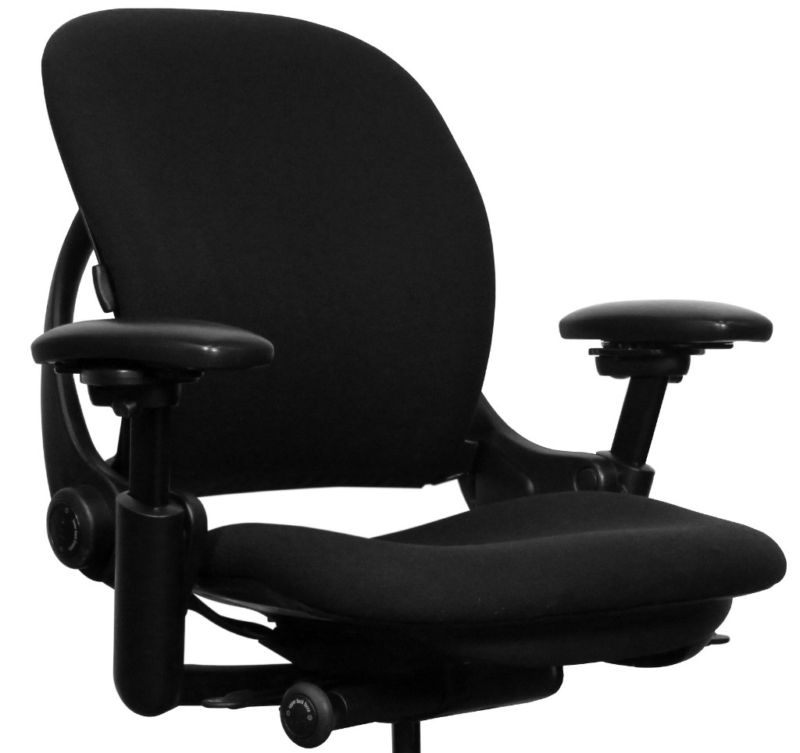 Leap chair by steelcase lp v1lb fab blk