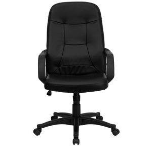 High Back Black Glove Vinyl Executive Office Chair by Flash Furniture
