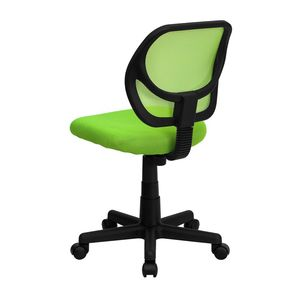 Mid-Back Green Mesh Task Chair and Computer Chair by Flash Furniture