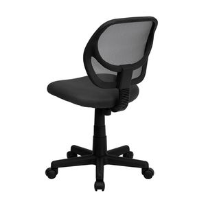 Mid-Back Gray Mesh Task Chair and Computer Chair by Flash Furniture
