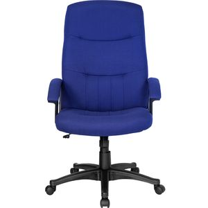 High Back Navy Fabric Executive Swivel Office Chair by Flash Furniture