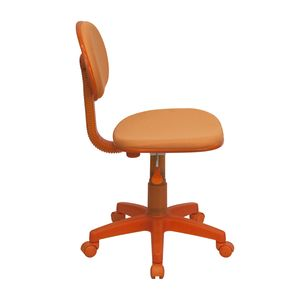 Orange Fabric Ergonomic Task Chair by Flash Furniture