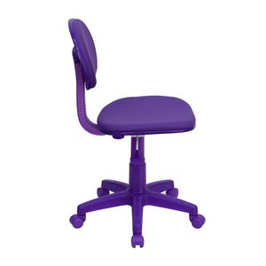 Purple Fabric Ergonomic Task Chair by Flash Furniture