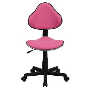 Pink Fabric Ergonomic Task Chair by Flash Furniture