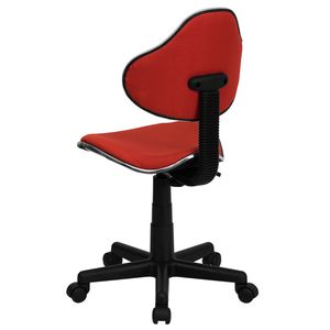 Red Fabric Ergonomic Task Chair by Flash Furniture