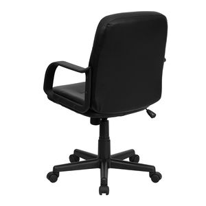Mid-Back Black Glove Vinyl Executive Office Chair by Flash Furniture