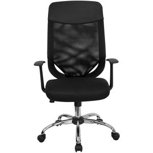 High Back Mesh Office Chair with Mesh Fabric Seat by Flash Furniture