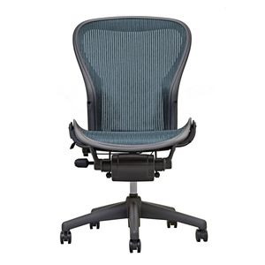 Aeron Chair by Herman Miller - Armless - Emerald