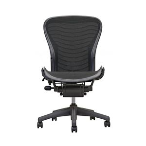Aeron Chair by Herman Miller - Armless - Graphite Wave