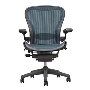 Aeron Chair by Herman Miller - Lumbar - Emerald