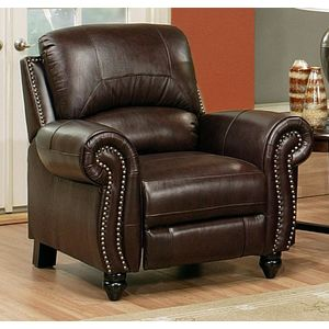 Madison Leather Recliner By Abbyson Living