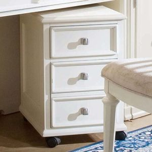 camden file cabinet with creamy whiteyellow finish by american drew